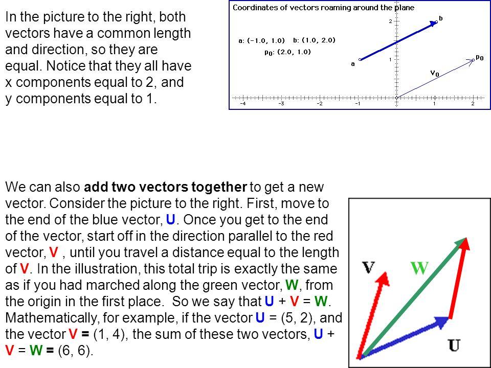 Parallel two vectors