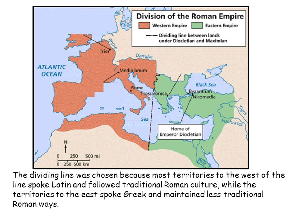 As the Roman Empire continued to grow in size, it became increasingly more difficult to control.
