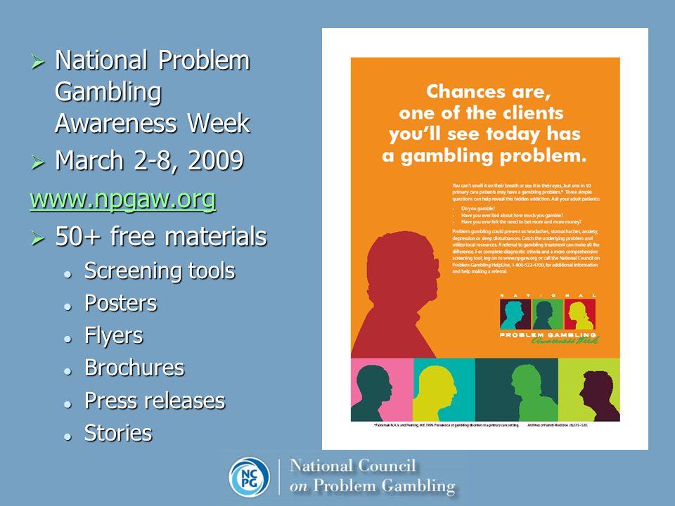 Gambling awareness week 2009 casino plebiscite