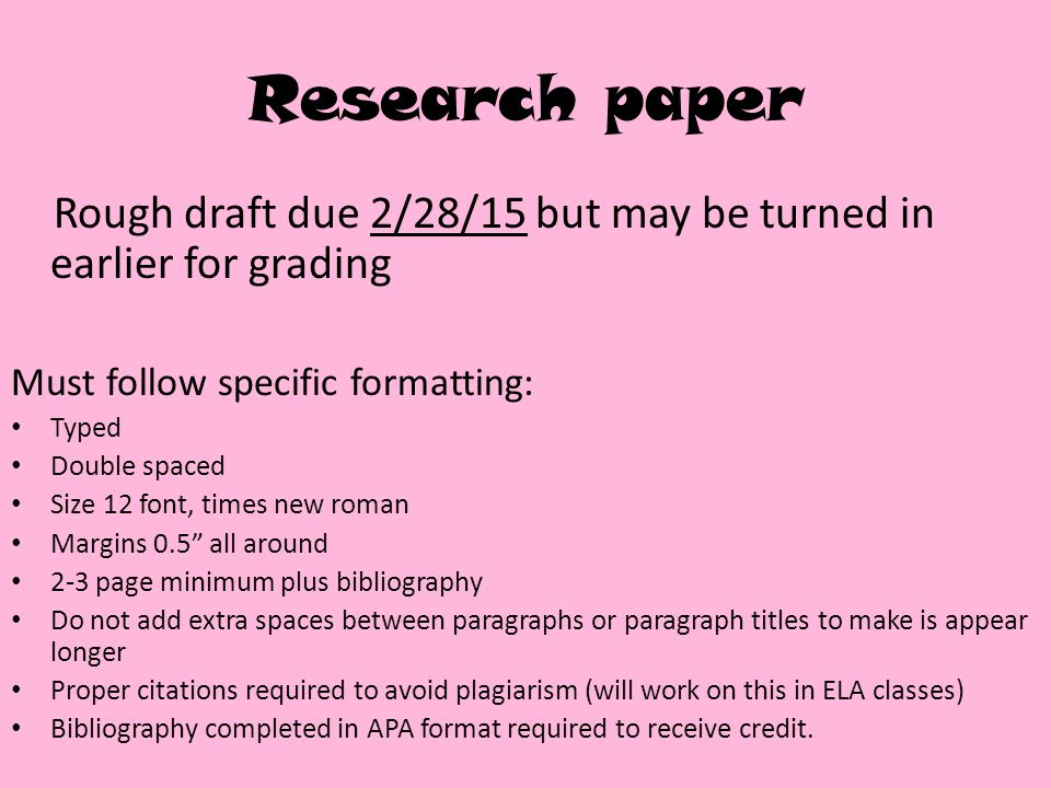 normal research paper A research paper does not normally need a title page, but if the paper is a group project, create a title page and list all the authors on it instead of in the header on page 1 of your essay if your teacher requires a title page in lieu of or in addition to the header, format it.