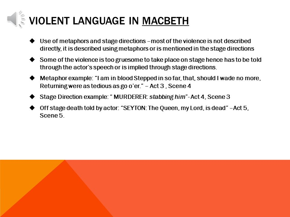 I need help on a 3 page essay about blood and violence in the play macbeth?