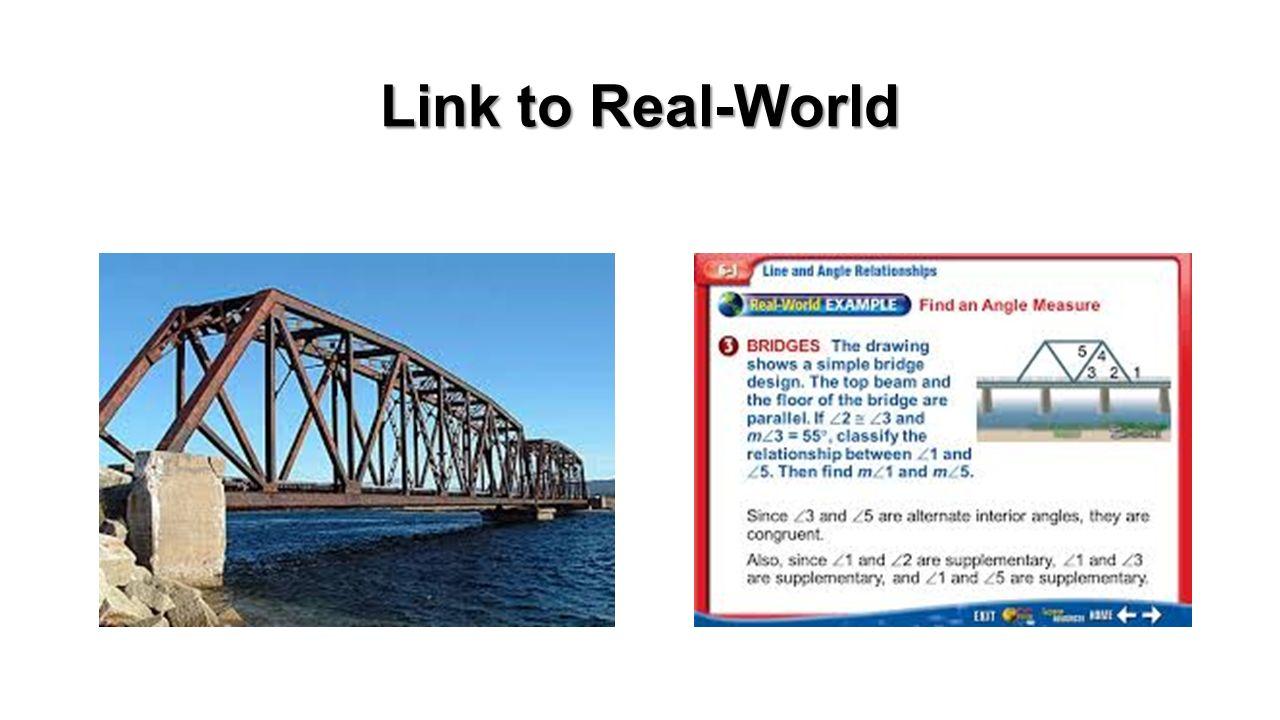 Bridge building parallel and transversal lines link to real world bridge building parallel and transversal lines 2 link to real world robcynllc Choice Image
