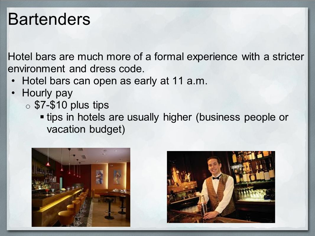 Various Hotel Positions. Hotel Positions Many people consider ...