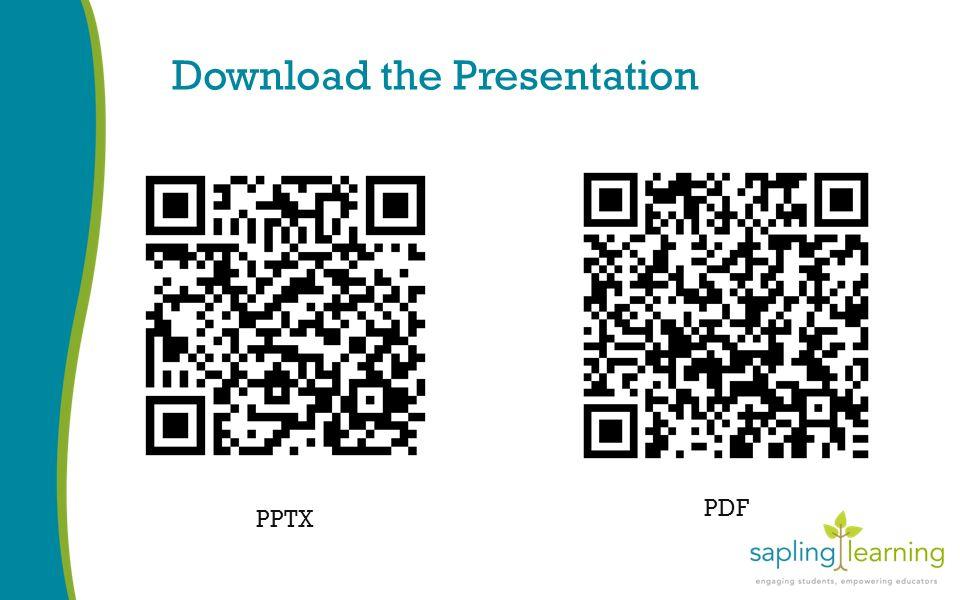 Download the Presentation PPTX PDF