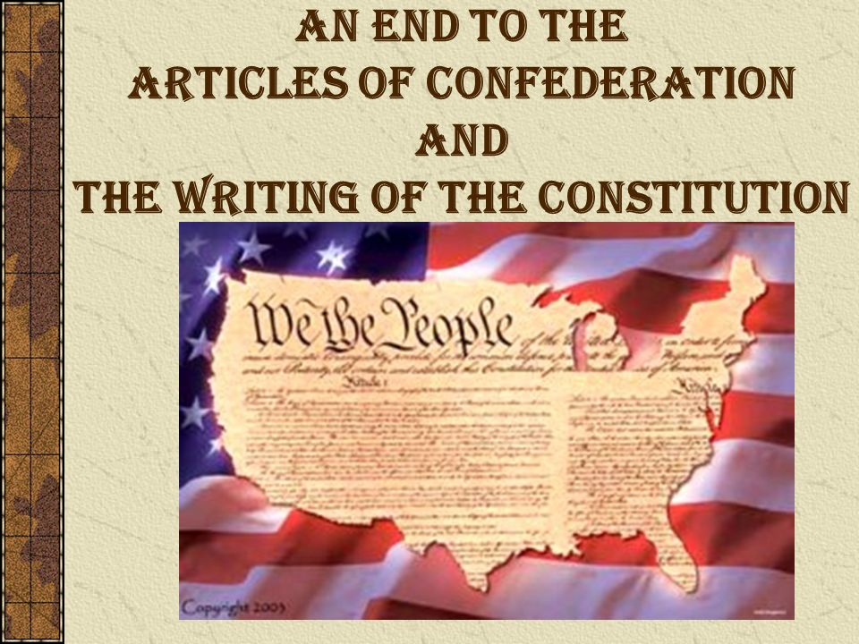 the articles of the confederation and the constitution We have not a government: the articles of confederation and the road to the constitution [george william van cleve].