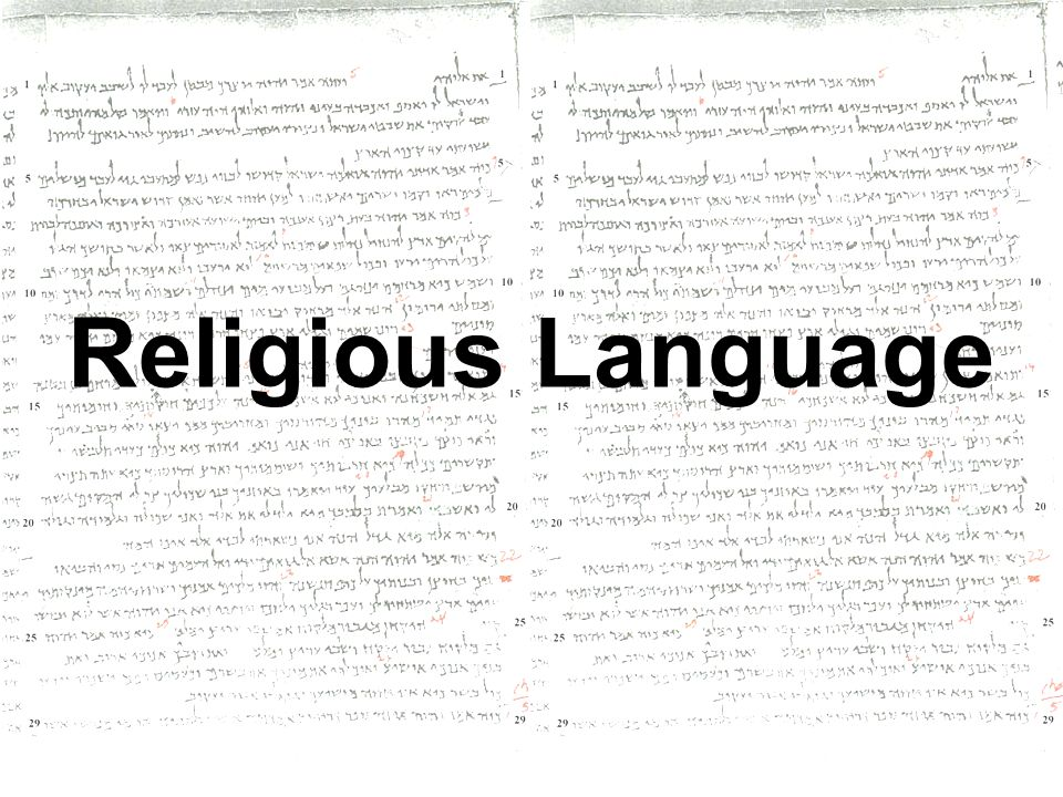 religious language is meaningless Kahrn sanderson a02 a2 philosophy mrs kassai critically assess the claim that religious language is meaningless (35 marks) religious language has been argued about by many philosophers with regards to whether or not the ways in which we speak about religion are meaningful this issue of religious.