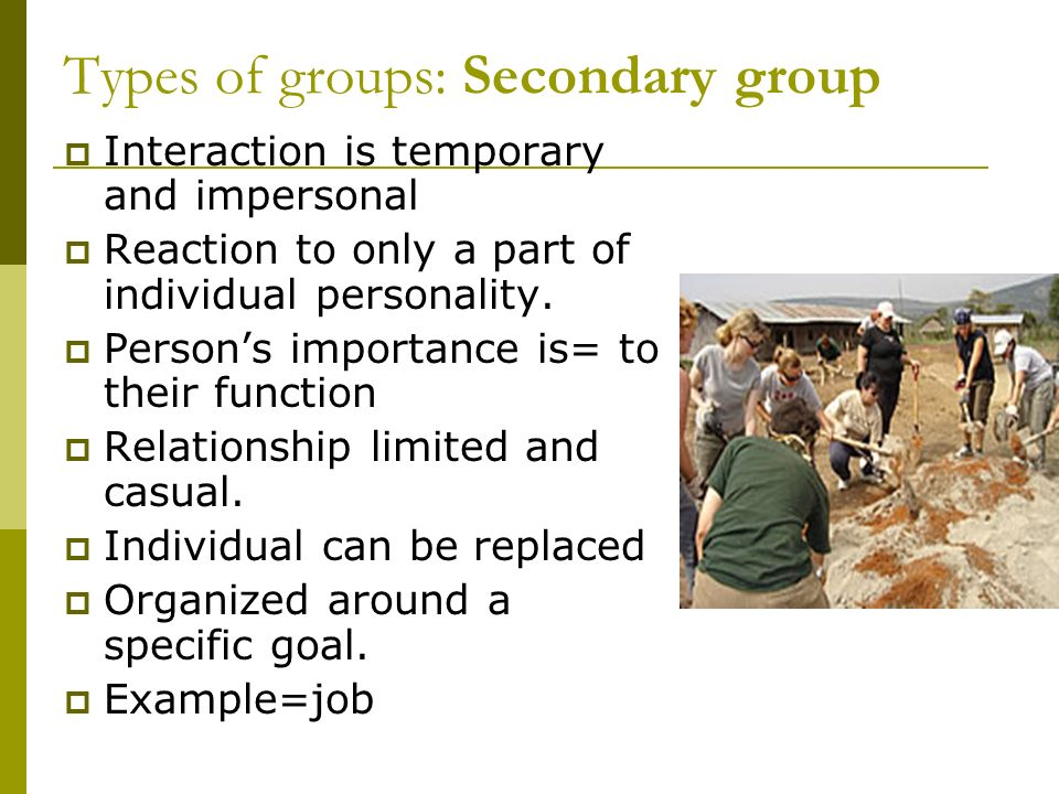 Reference Groups  We perform our roles and judge our behavior with reference to the standards set by a particular group or groups.