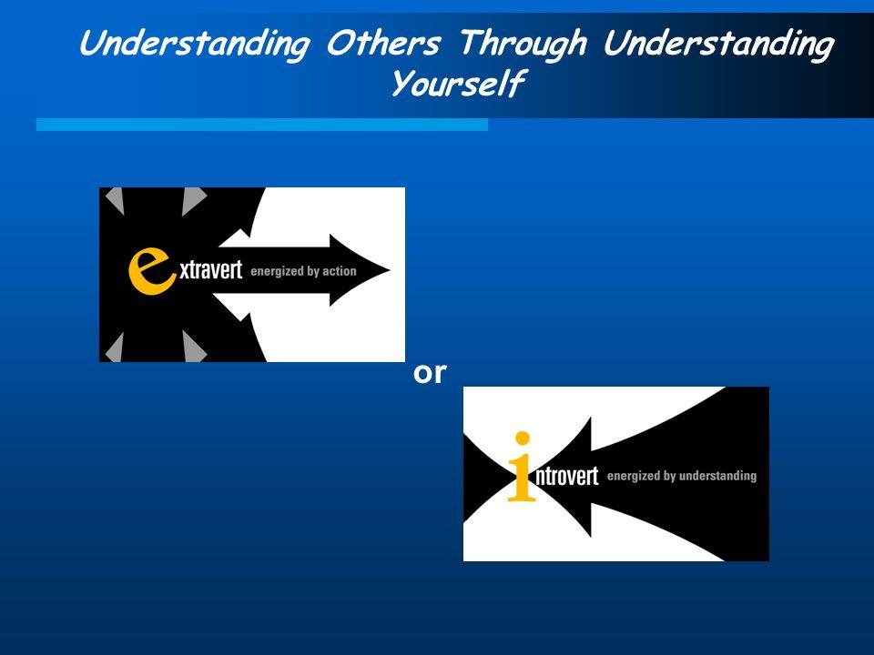 Understanding Others Through Understanding Yourself or