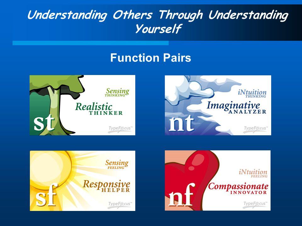 Understanding Others Through Understanding Yourself Function Pairs