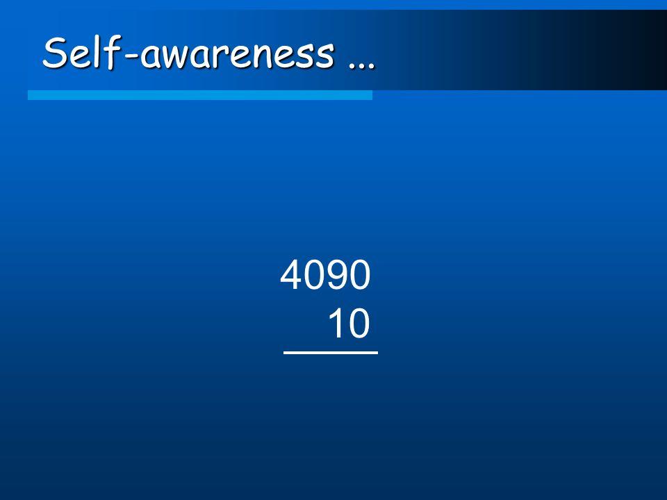 Self-awareness... 4090 10