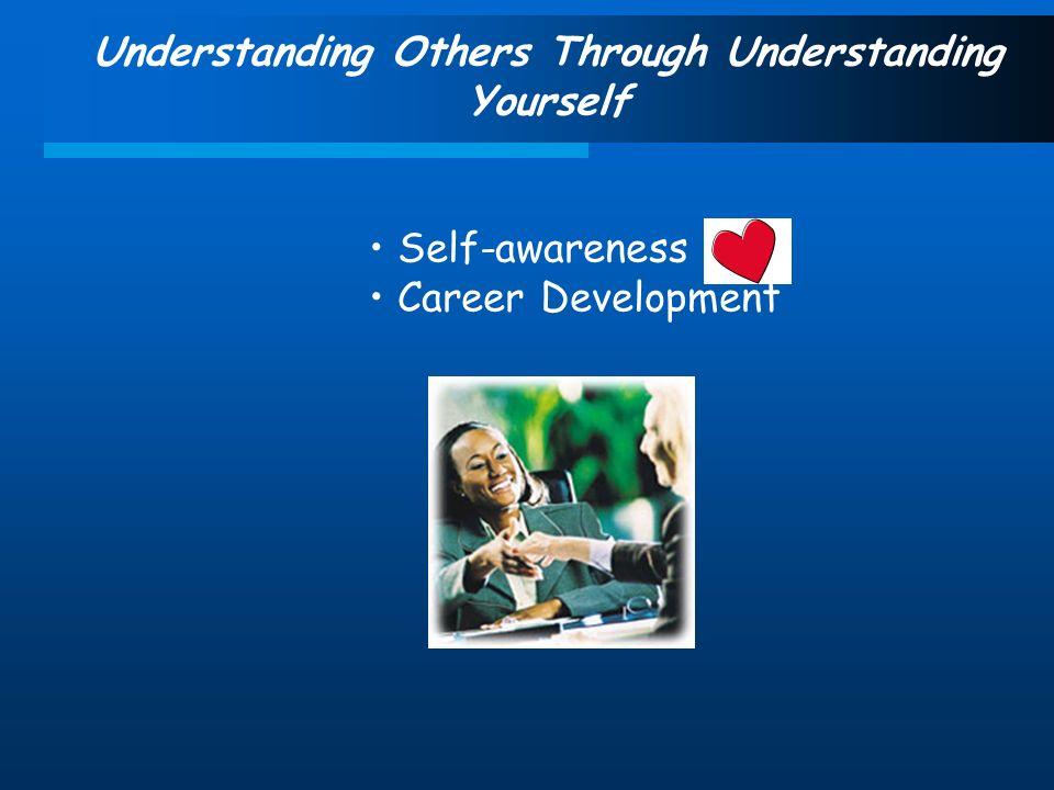 Understanding Others Through Understanding Yourself Self-awareness Career Development