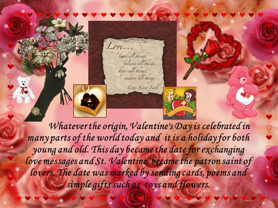Valentine\'s Day !!!. Every February, candy, flowers, and gifts are ...