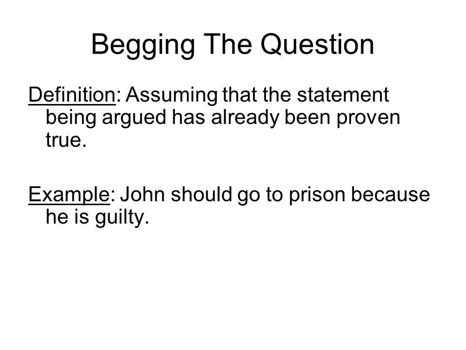 Definition question?