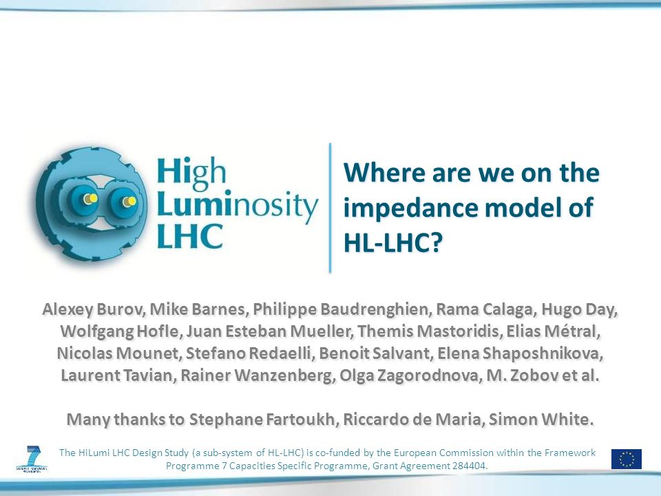 The HiLumi LHC Design Study (a sub-system of HL-LHC) is co-funded by the European Commission within the Framework Programme 7 Capacities Specific Programme, Grant Agreement