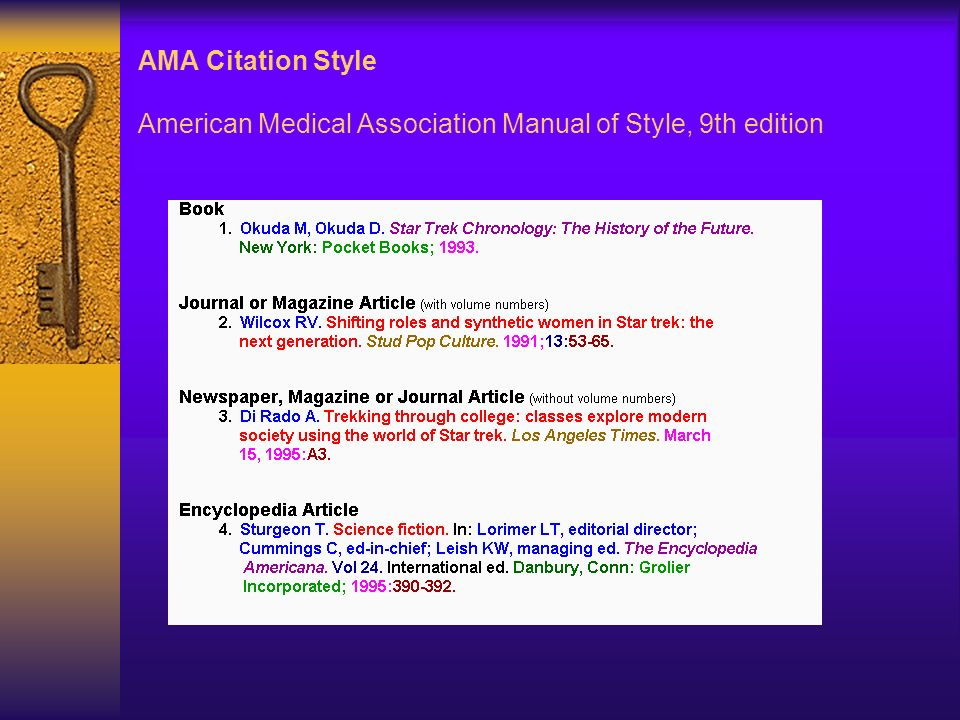 cite thesis ama For a complete description of citation guidelines refer to pp 210-211 (datset) and p 212 (unpublished raw data) of the publication manual of the american psychological association, 6th edition [call number: reference bf767 p83 2010] data set basic form: author/rightsholder (year) title of data set (version number) [description of form].