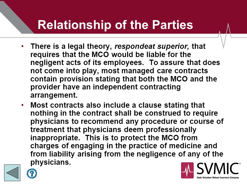essay on respondeat superior Doctrine of respondeat superior - medical law case on point: sacks v necaise, 2007 msca 2006-ca-01068 order this essay here now and.