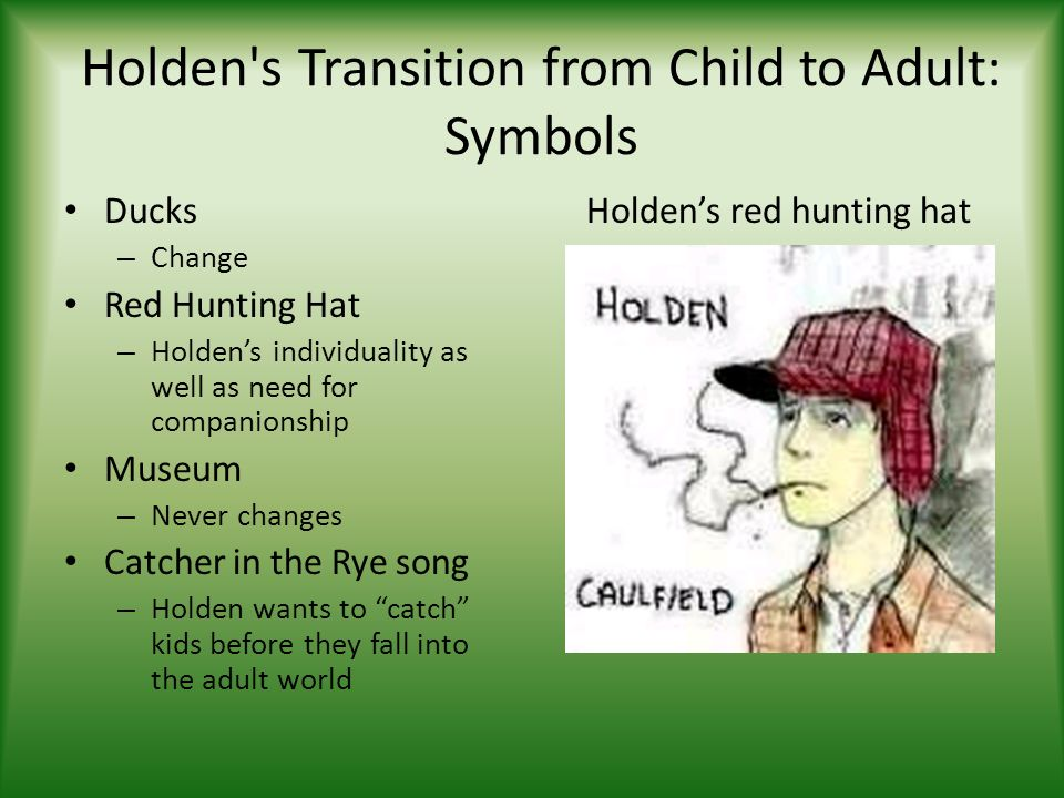 holden s loss of innocence in catcher A summary of themes in j d salinger's the catcher in a world of innocence most famous phrase from the catcher in the rye, is one of holden's favorite.