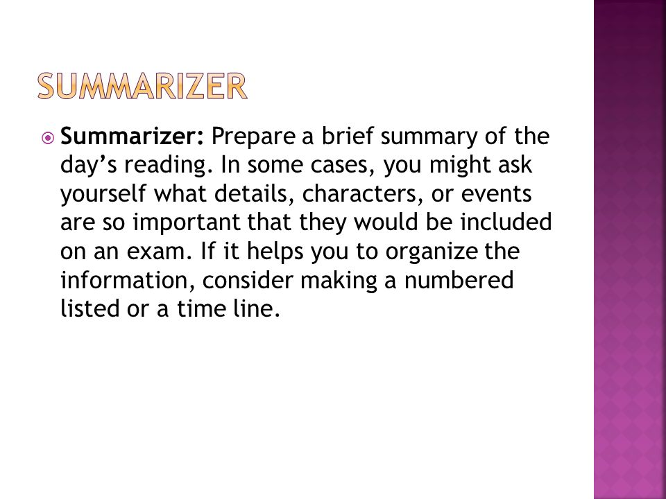 essay summarizer Investigate how to summarize an essay on our website and you will get more than simple instruction.