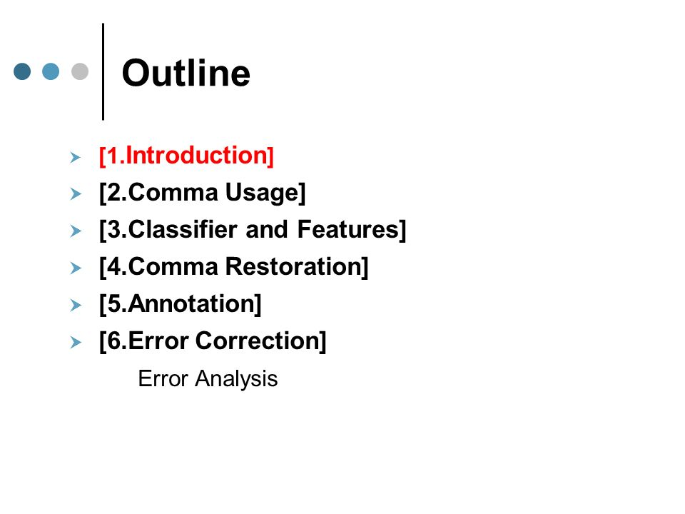 Correcting Essays Correcting Comma Errors In Learner Essays And
