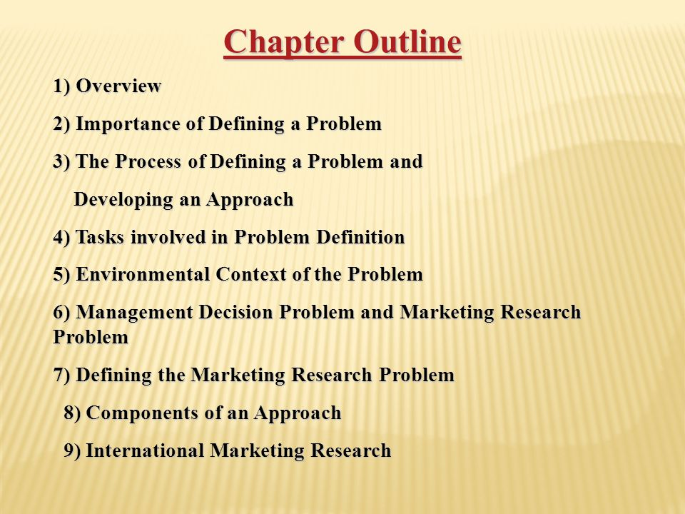 chapter 2 research problem 2 A literature review is designed to identify related research, to set the current research project within a conceptual and theoretical context the second chapter should start with a brief introductory paragraph concerning the researcher's exploration of related literature and studies on the research problem state the main coverage of.