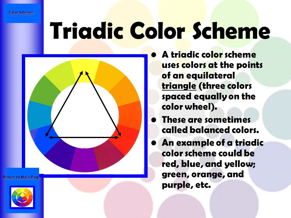 Double Split Complement Color Scheme A Also Called Tetradic