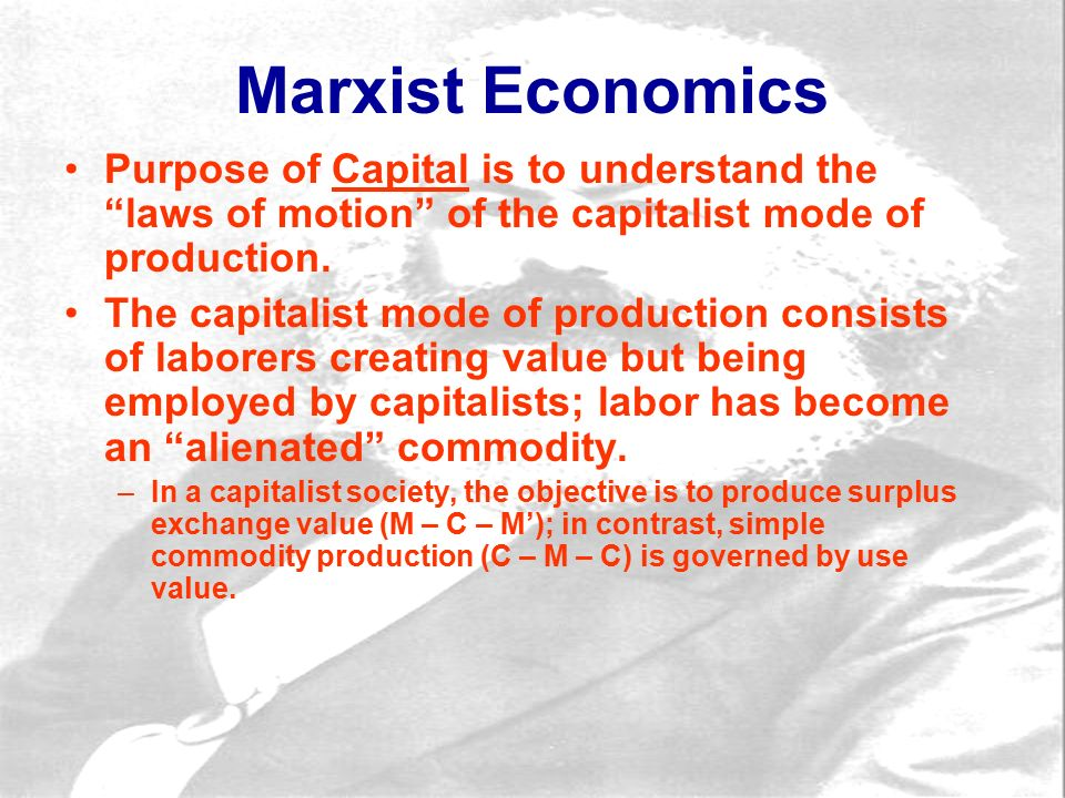 What is marx connection between the capitalist mode of production and the alienation of labor?