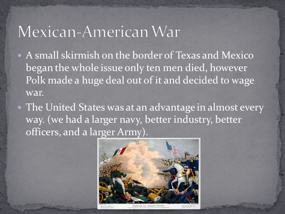 """an analysis of the mexican american war The """"spot resolutions,"""" requesting president polk to submit evidence to congress the whig journal decried the mexican war as one of american """"aggression and."""