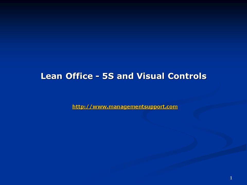 1 lean office - 5s and visual controls - ppt download, Powerpoint templates