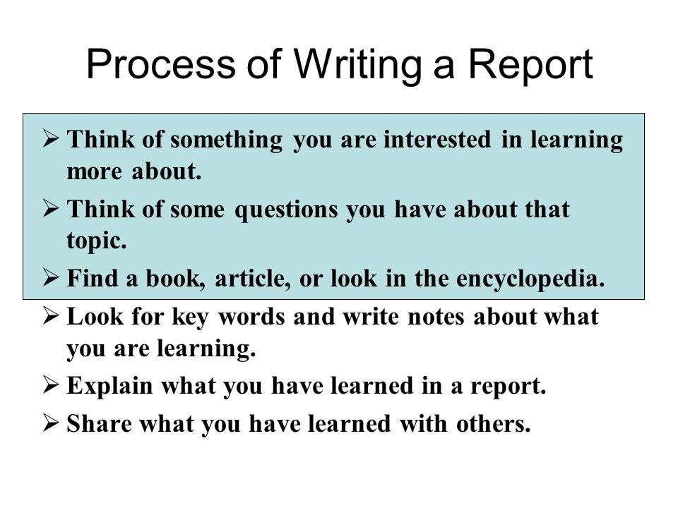 how to write a research report If the market research report is not properly delivered, it renders the research a waste of time review your research data and analysis to ensure that it is complete most market research involves compiling information about the needs and desires of customers through surveys, focus groups, competitor statistics and financial trends.