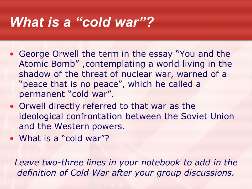 the cold war begins std analyze u s foreign policy since wwii  2 what