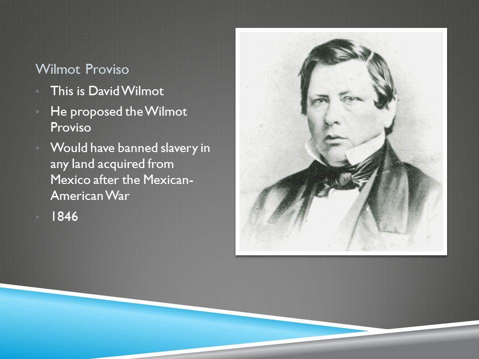 david wilmot definition