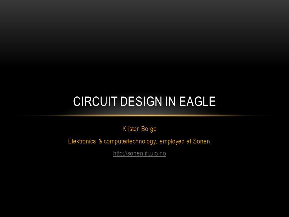 Krister Borge Elektronics & computertechnology, employed at Sonen ...