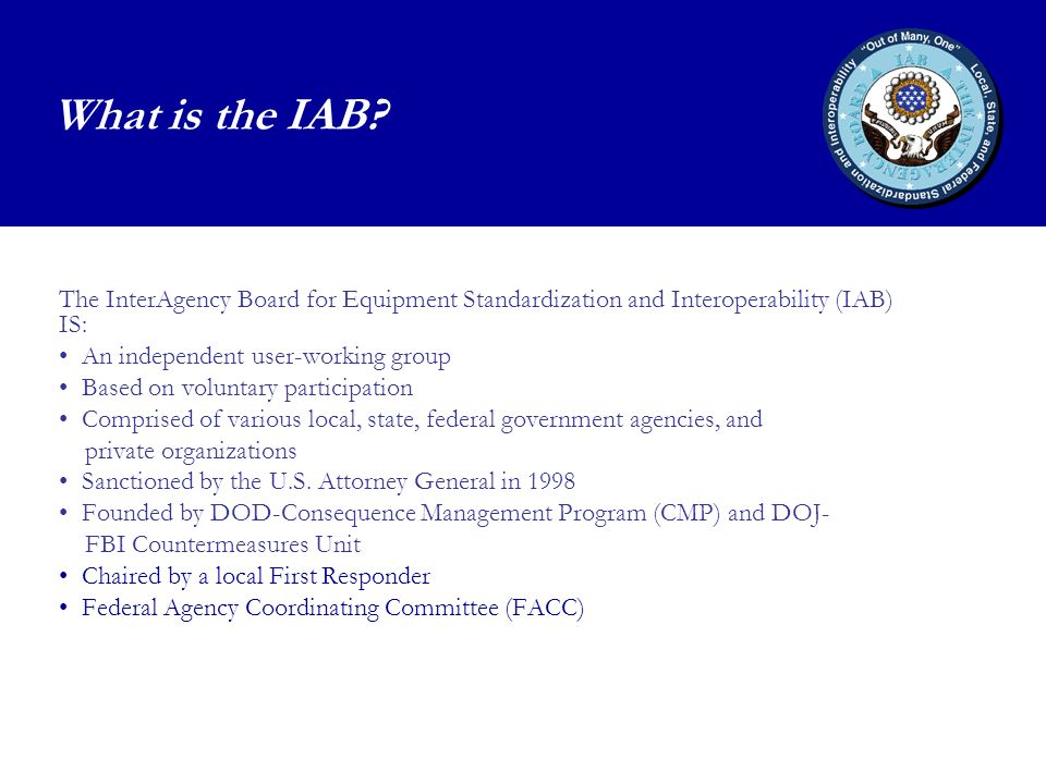 What is the IAB.