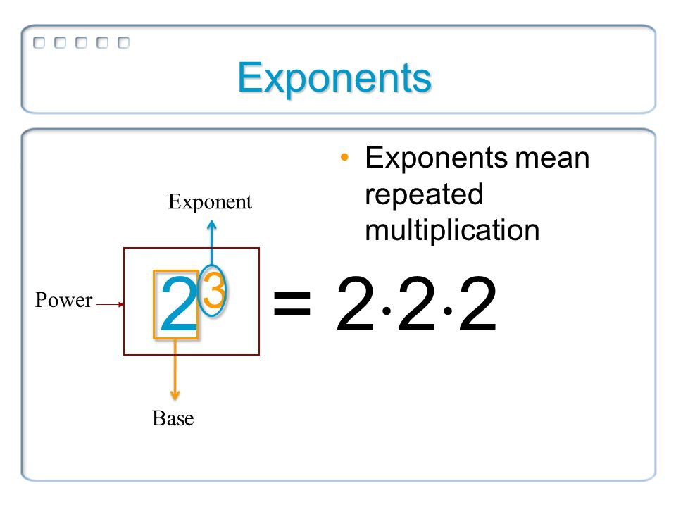 Example: Write Repeated Multiplication in Exponential Form - YouTube