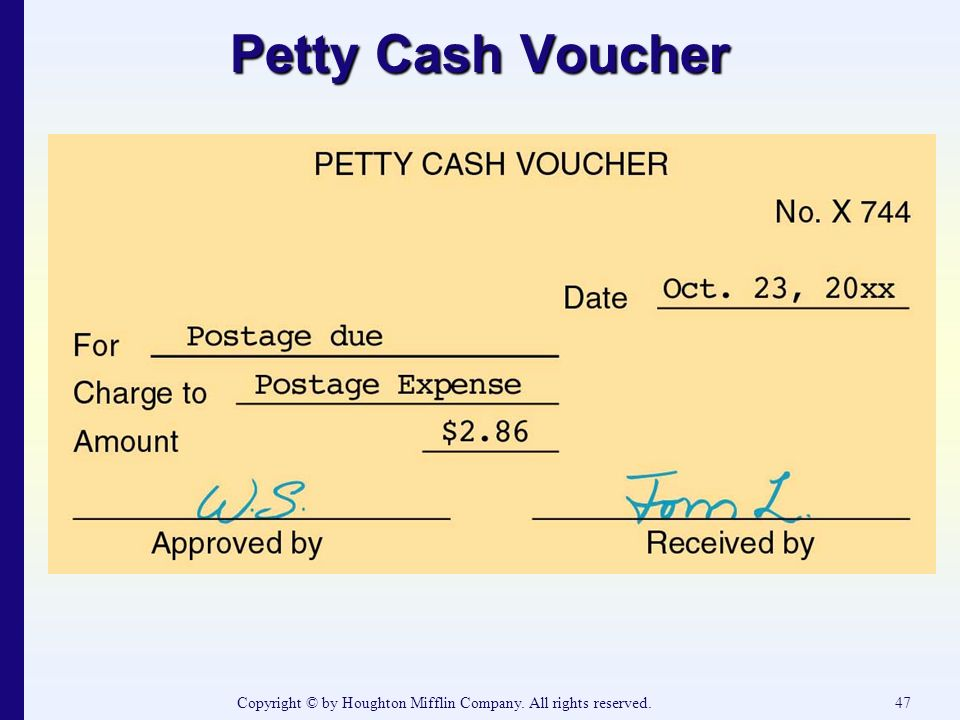 Superb All Rights Reserved.47 Petty Cash Voucher In Petty Cash Voucher Definition