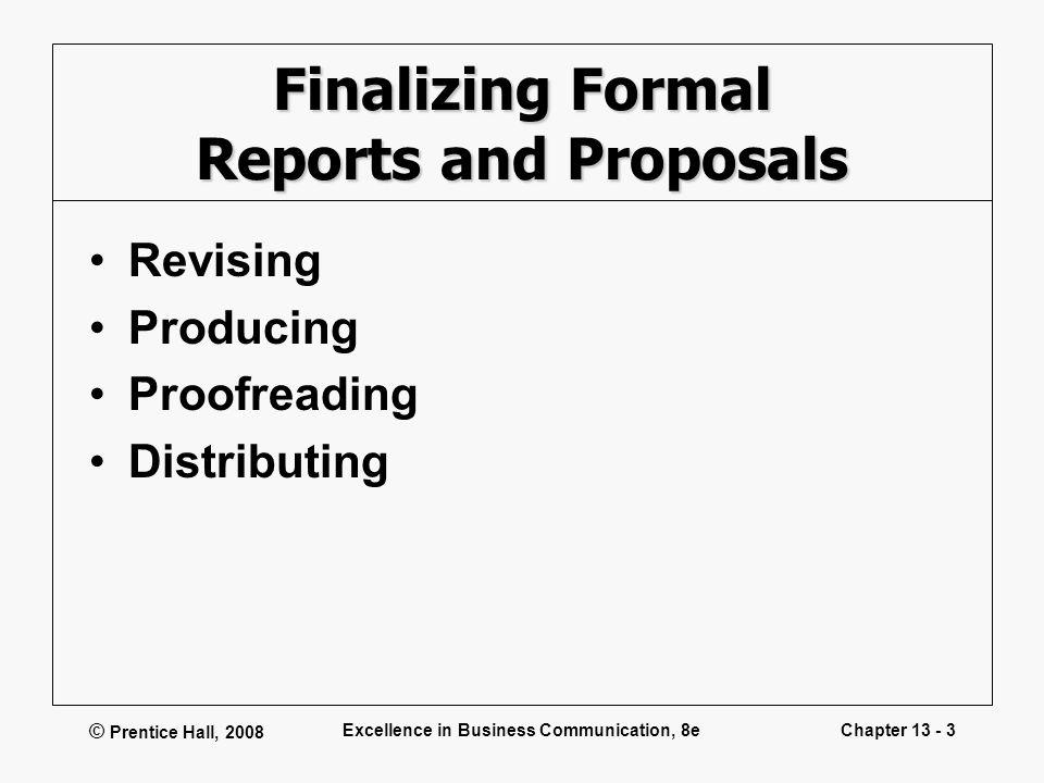 Doc.#12411755: Formal Business Report Sample – Report Writing
