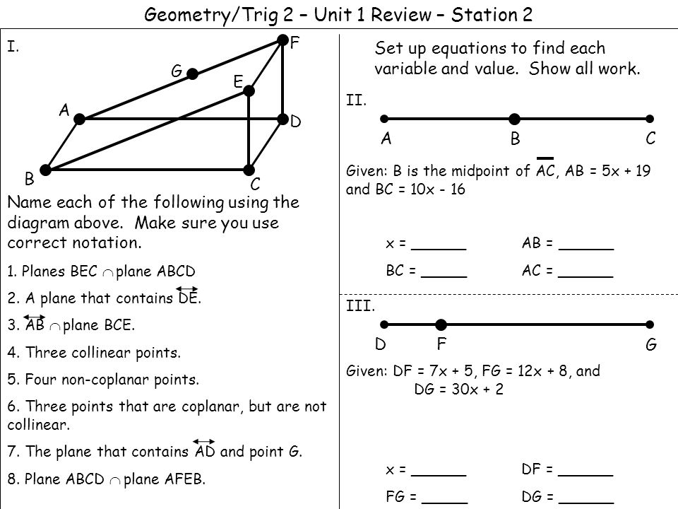 Printables Geometry In All Diagram And Name geometry in all diagram and name precommunity printables worksheets geometrytrig 2 unit 1 review station use the diagram