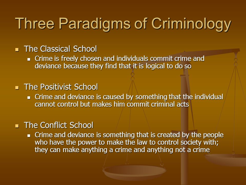 Is there such a thing as positive criminal deviance in sociology?