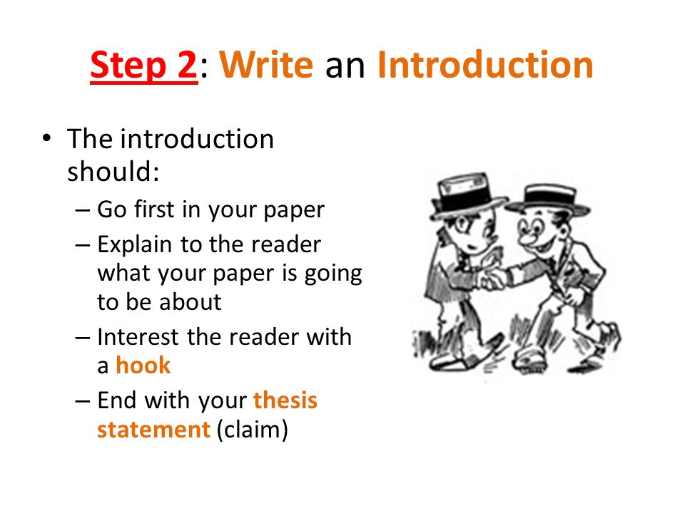 How To Write An Intro For A Research Paper
