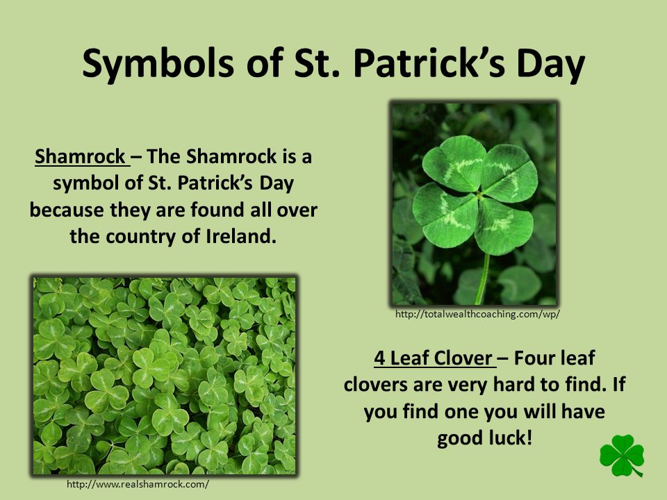 st. patrick's day click the 4 leaf clover throughout the, Powerpoint templates