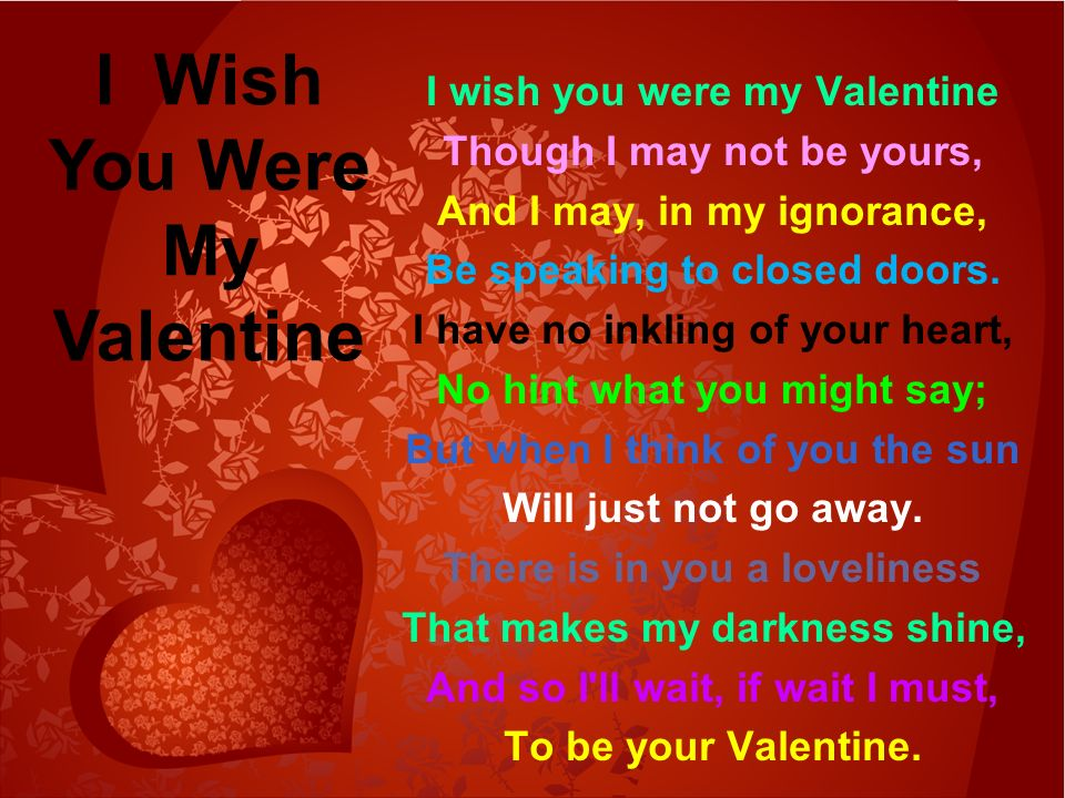 Here Is A Valentine. I Made It Just For You. With Paper And Ribbons