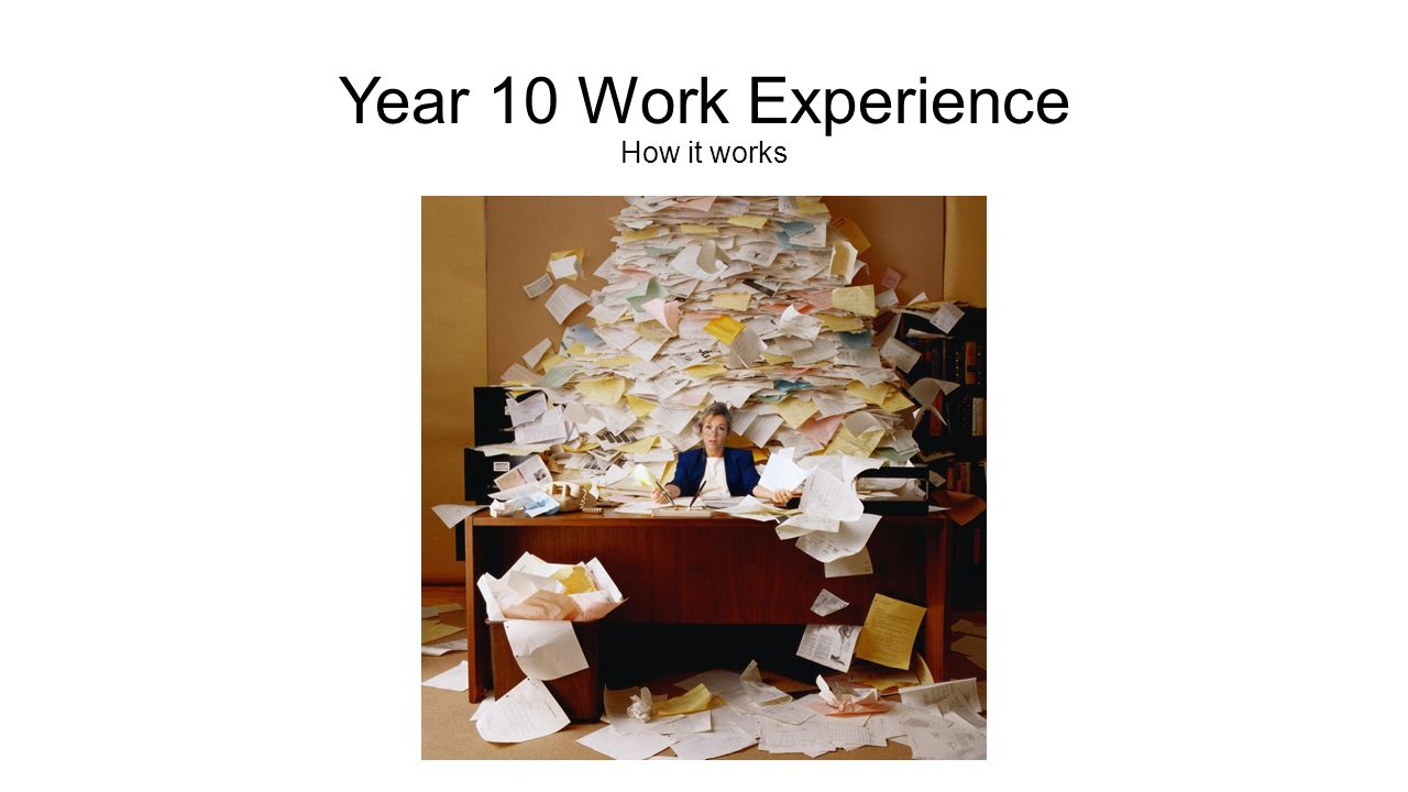 Year 10 work experience how it works the contents of my envelope 1 year 10 work experience how it works spiritdancerdesigns Choice Image