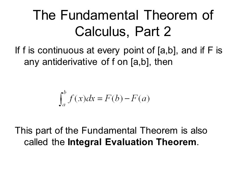 Calculus Date 372014 ID Check Obj SWBAT connect Differential – Fundamental Theorem of Calculus Worksheet