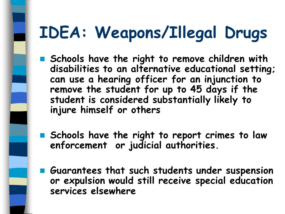 What are some outlines for an essay about searching students for weapons or drugs at school?