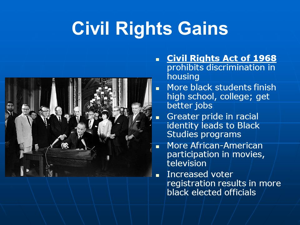 a study of the civil rights act of america Civil rights cases great lakes region compiled by amanda bylczynski, glenn longacre, and martin tuohy the assault on discrimination, 1940-1954 reckoning with brown vboard of education (1954) and the civil rights act of 1957, 1954-1964.
