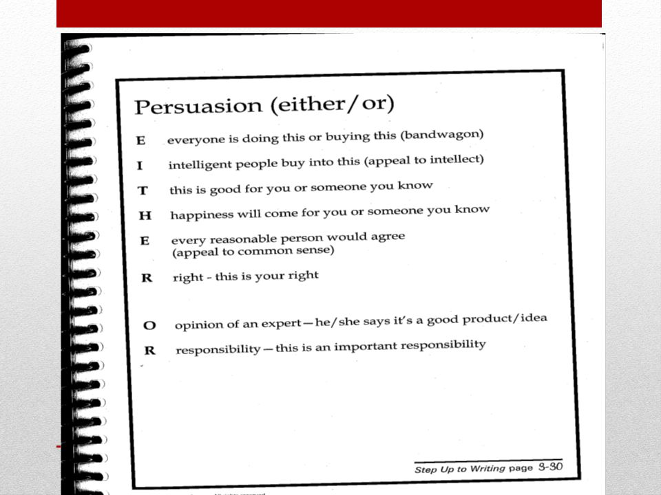 Transition Words For A Persuasive Essay