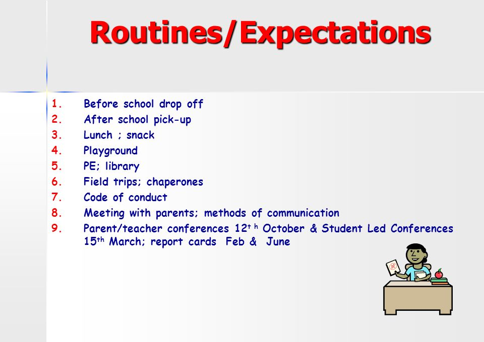 Homework Expectation And Routine - image 10