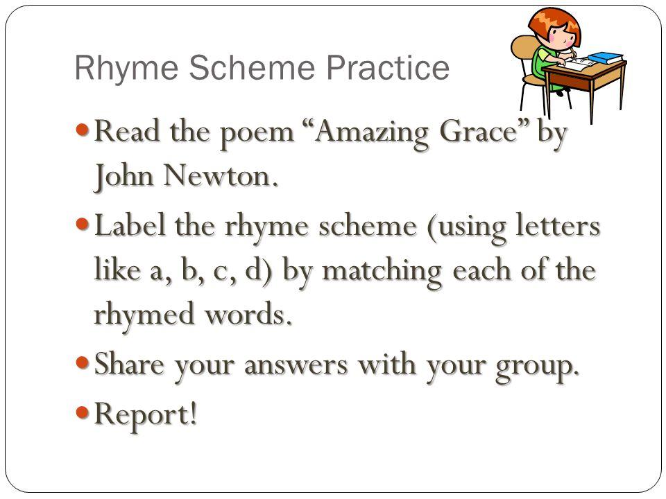 Rhyming Homework