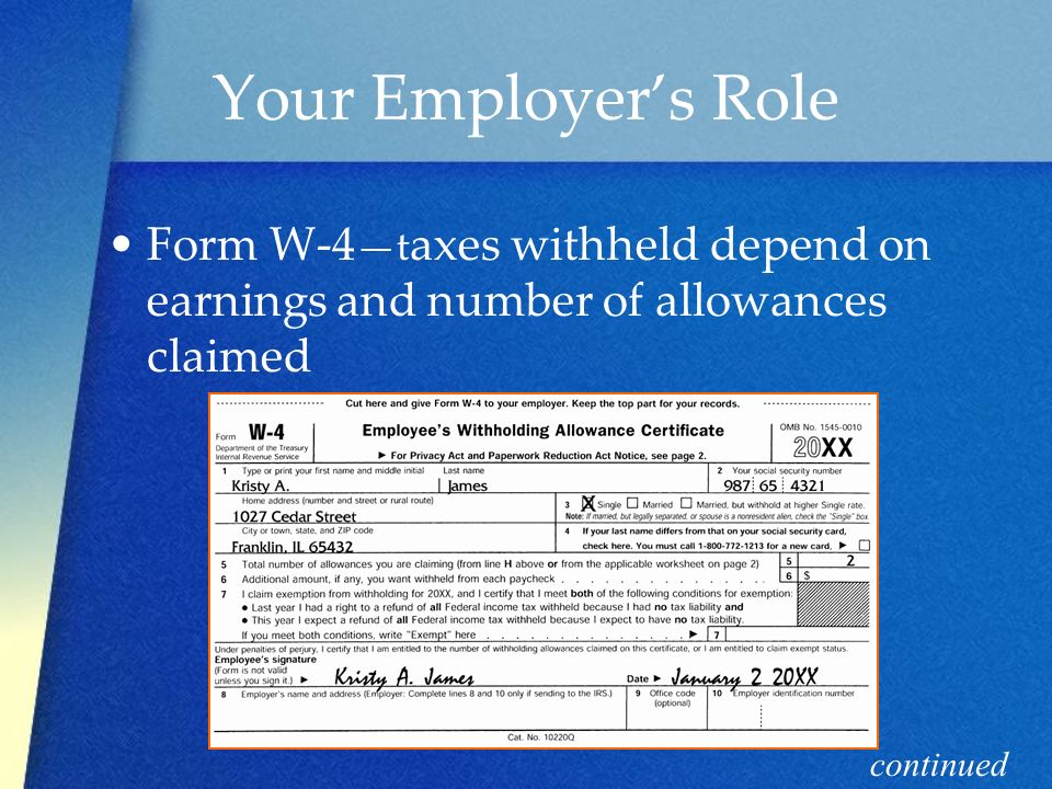 Filing Taxes Chpt Objectives Identify different types of income ...