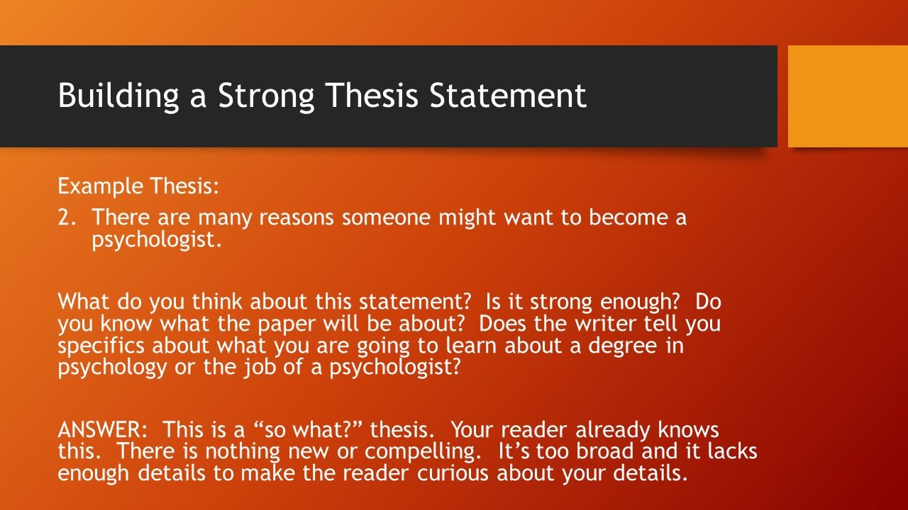 ap english thesis statements Ap digital edge downloadable resources for ap english language & composition within rhetorical analysis by developing unity between a thesis statement.